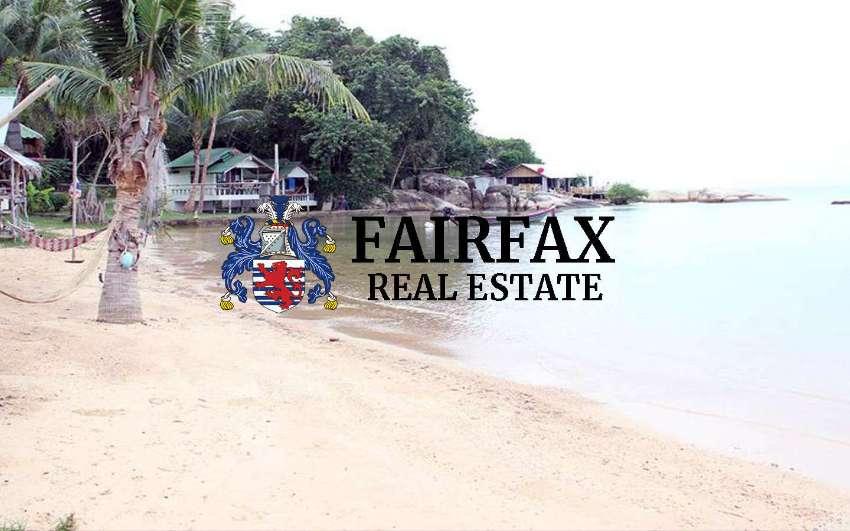 BEACH FRONT RESORT FOR SALE IN WOK TUM KOH PHANGAN