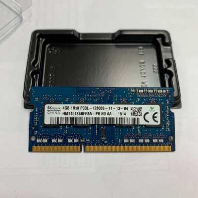 แรมโน๊ตบุ๊ค RAM DDR3L 4GB PC3L 12800s (1600 NB) 4GB SKHynix 8 Chip
