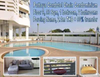 Condotel Chain Condominium Resale Unit 53 Sqm