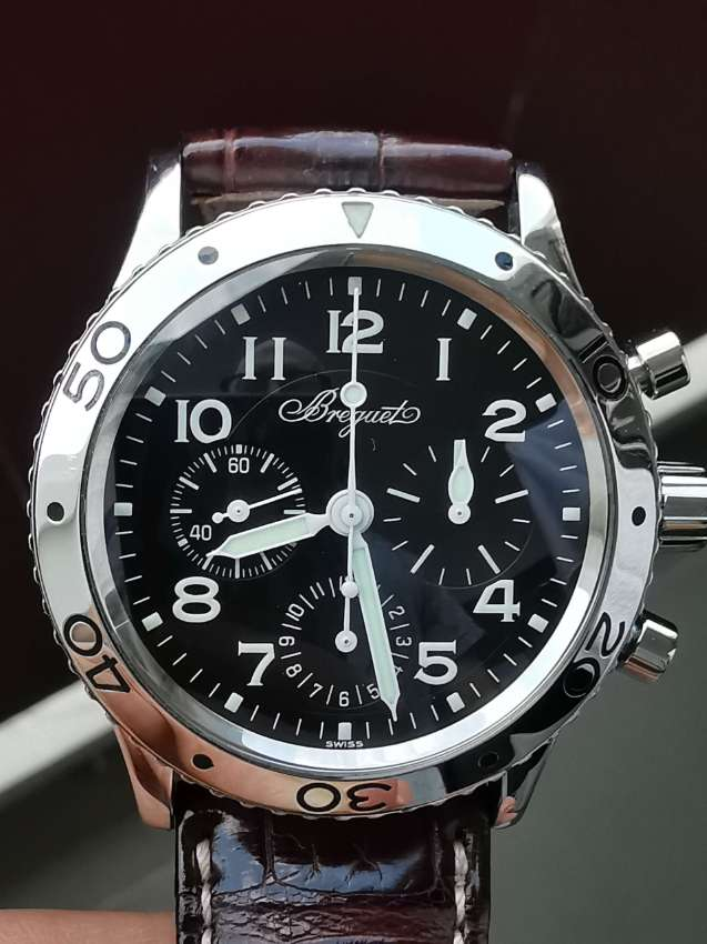 BREGUET type 20, transatlatic flyback pilots watch
