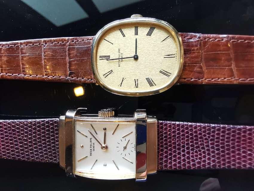 Patek Philippe golden ellipse, gold dial watch