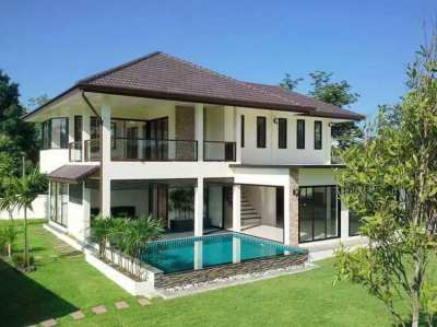House with private swiming pool for sale/rent in DoiSaket,
