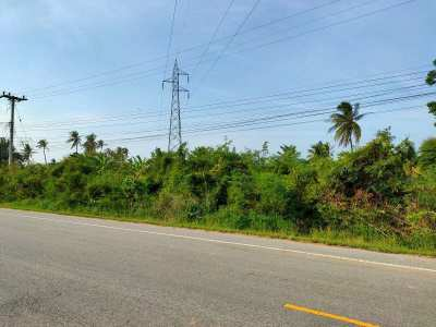 Priced For Quick Sale! 4 Rai Main Highway Frontage Land For Sale