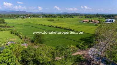 (LS347-07) 7.5+ Rai of Land with Great Views in Luang Nuea, Doi Saket