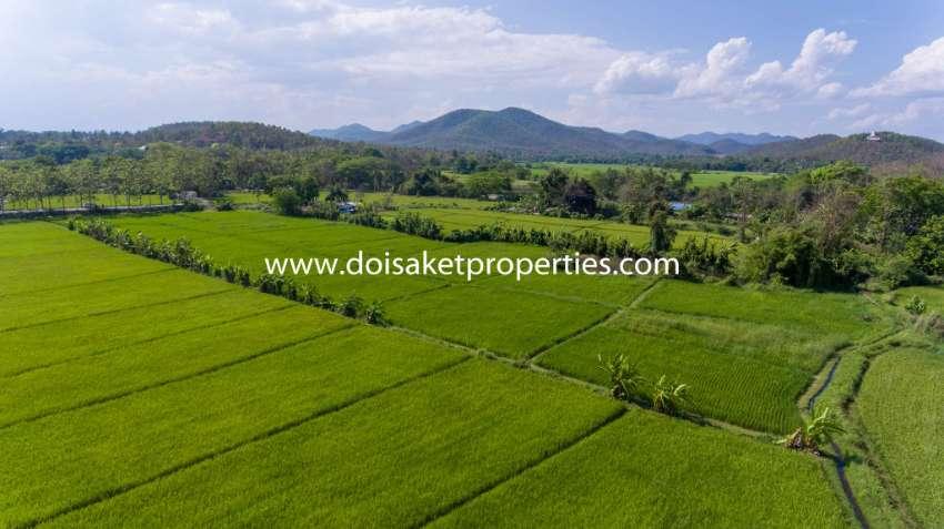 (LS347-07) 7.5+ Rai of Land with Great Views in Luang Nuea, Doi Saket