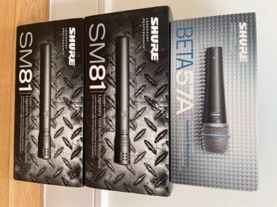 SHURE SM 81 (NEW)