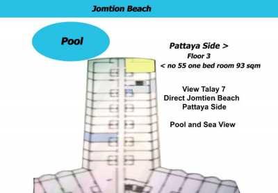 View Talay 7 Condo for sale Jomthien Beach