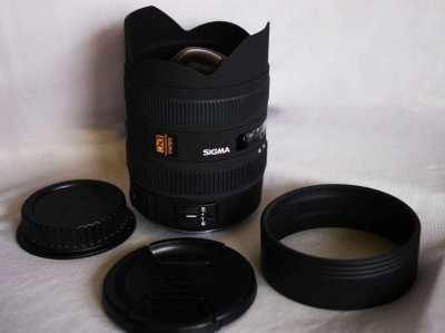 Canon EF Mount Sigma 8-16mm DC HSM FLD AF Ultra Wide Zoom Lens