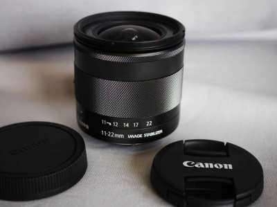 Canon EF-M 11-22mm f4-5.6 IS STM Ultra Compact Wide Angle Lens