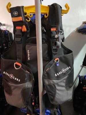 Aqualung BCD and Calypso Regulator set for sale