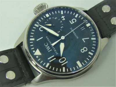 IWC Big Pilot 5004, huge 46mm diameter, Rolex quality