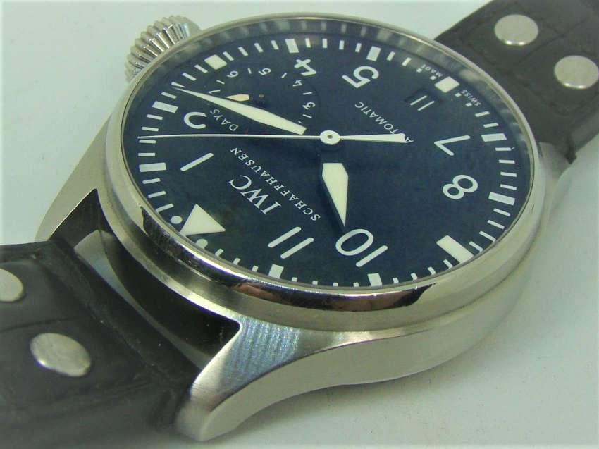 IWC Big Pilot 5004, huge 46mm diameter, Rolex quality