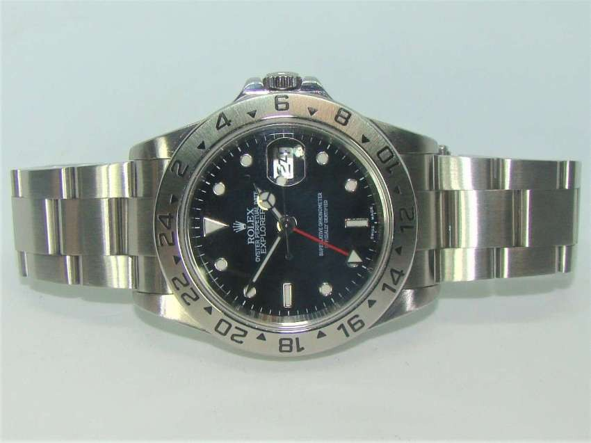 Rolex Explorer II 16570, as new with guarantee