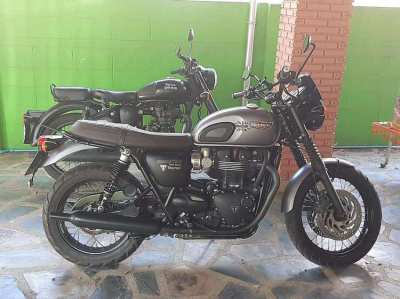 Triumph T 120 from 2017 in top condition