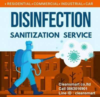 Disinfectant service covid 19 elimination program