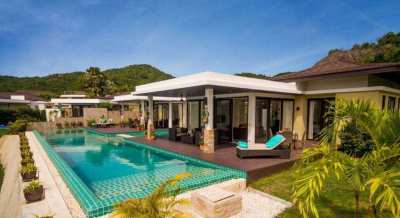 Hot! -4,000,000! Luxury Twin Pool Villas with Mountain Views