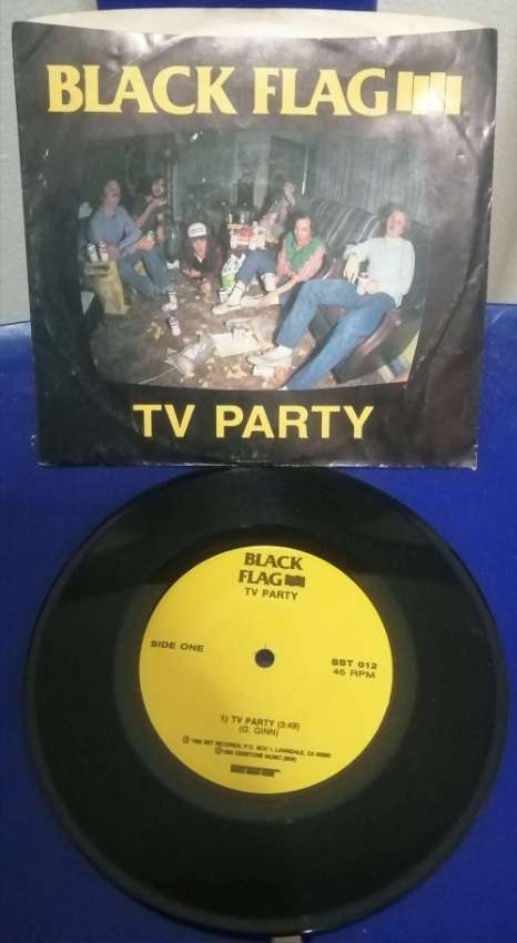 BlackFlag vinyl 7