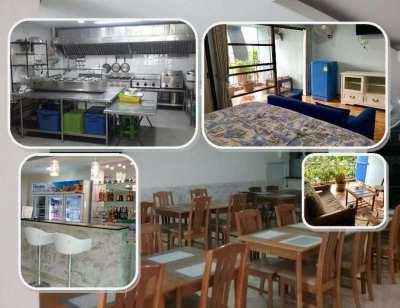 Jomtien 9 Room Guesthouse/Restaurant for Sale