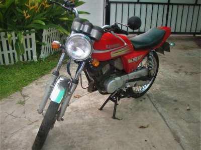 Kawasaki KH125 GTO Speedster / classic bike with all documents