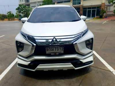 ขาย รถยนต์ Mitsubishi Xpander สีขาว ปี2018