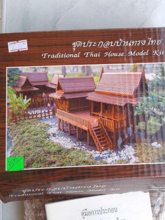 Traditional Thai House Model Kit.