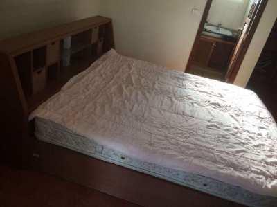 Qeensize Bed  incl.mattress
