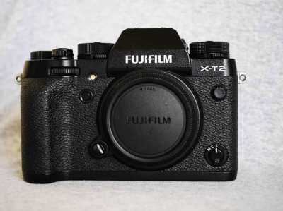 Fujifilm X-T2 24.3MP 4K Weather Resistant Wi-Fi Digital Camera Black