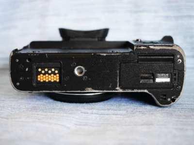 Fujifilm X-T2 24.3MP 4K Weather Resistant Wi-Fi Digital Camera Black