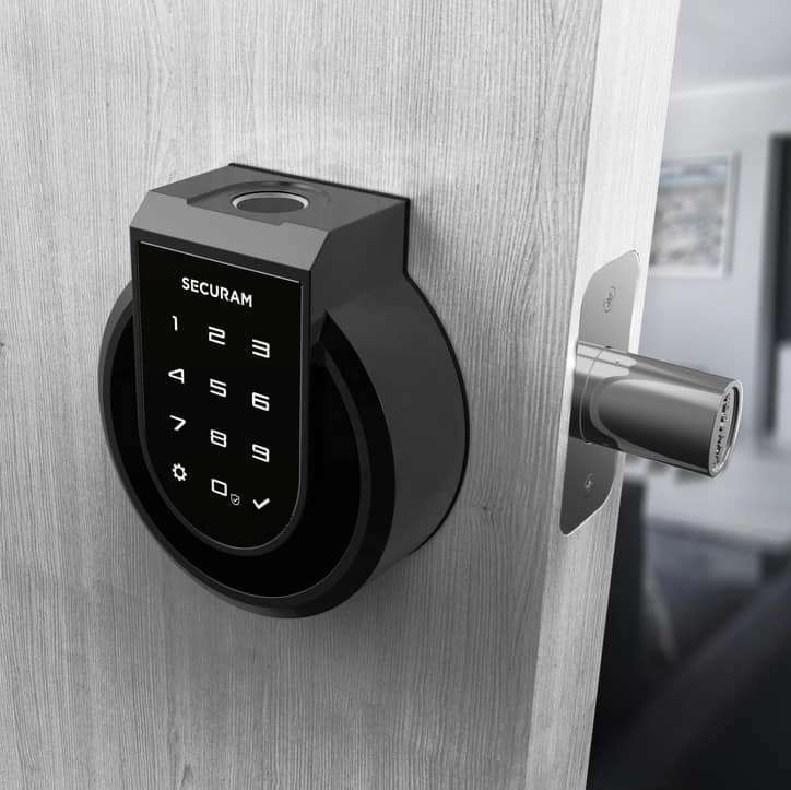 SECURAM Touch - Fingerprint SMART Deadbolt Lock