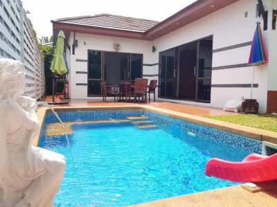 2 bedroom pool villa close to the beach in Rayong. Price 3,400,000 THB