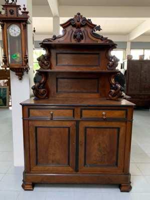 Antique Biedermeier sideboard cabient