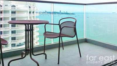 Wongamat Tower - This View For Only 12,000 Baht/Month!
