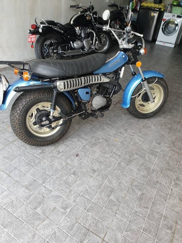 Suzuki VanVan 125cc Year 1974