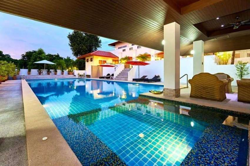 Fully Furnished Luxury Pool Villa near Shopping Center in Rayong City
