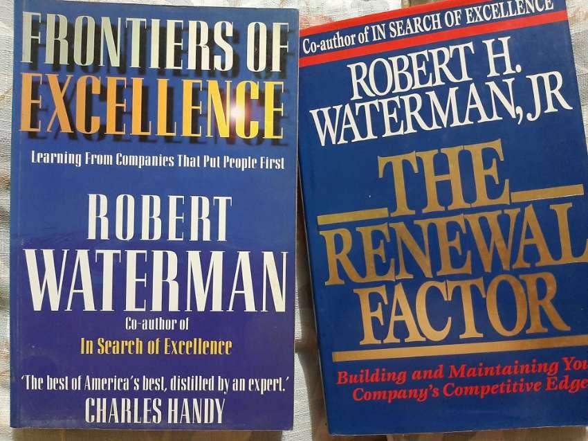 Robert Waterman - Two Business Development books (Not Tom Peters)