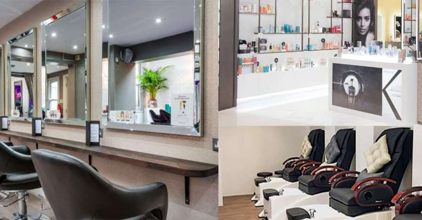 Beauty salon (hairs, nails, wax) in Sukhumvit busy office area Mall