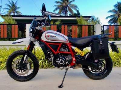Ducati Scrambler Desert Sled 2019, 7xxx km