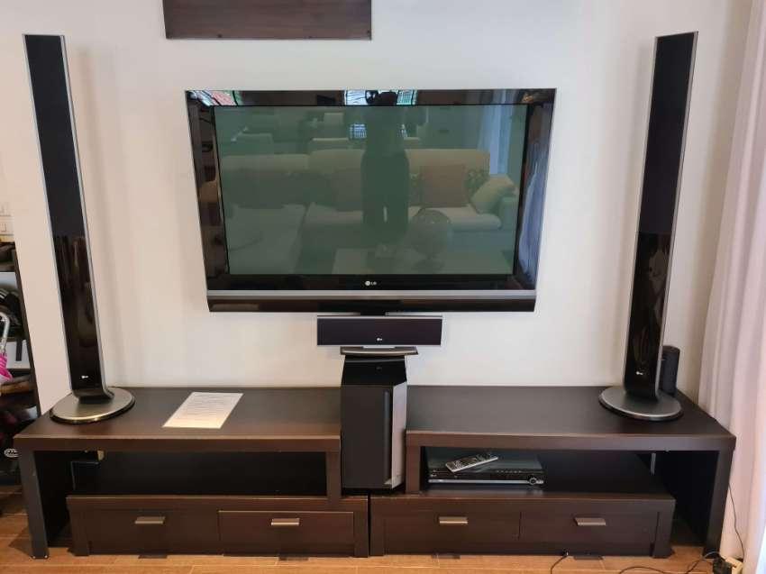 Home cinema, House furniture, paintings, biblos