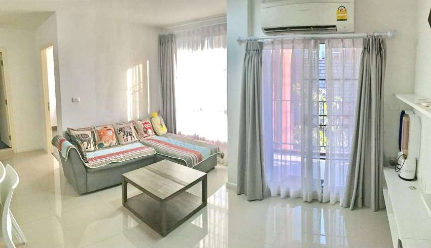 D Vieng Santitham condominium for rent, 1.5 km. from ChiangMai old cit
