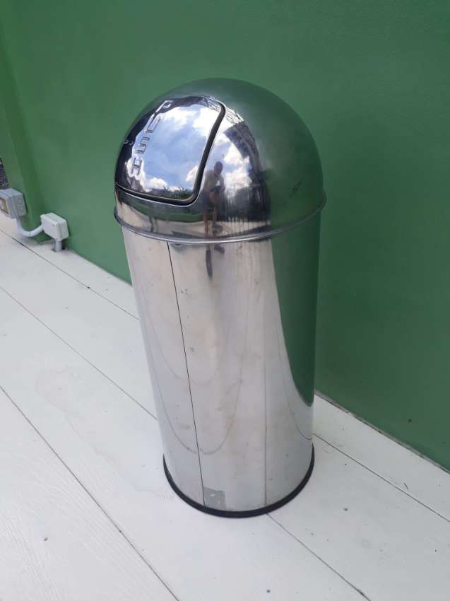 Stainless Steel Garbage Can