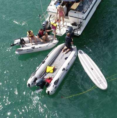 Takacat Inflatable  Catamaran