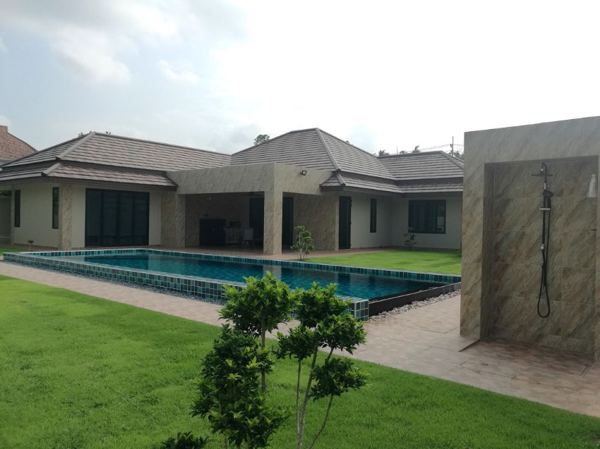 Brand New Pool Villa For Sale with big plot of land