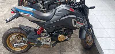 Honda MSX 125sf with ABS