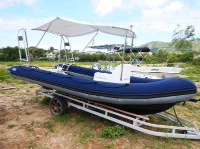 Absolutely FRESH RIB 5,8m.  For SALE