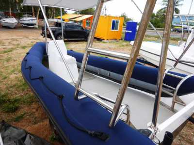 RIB 580 for sale . New condition.