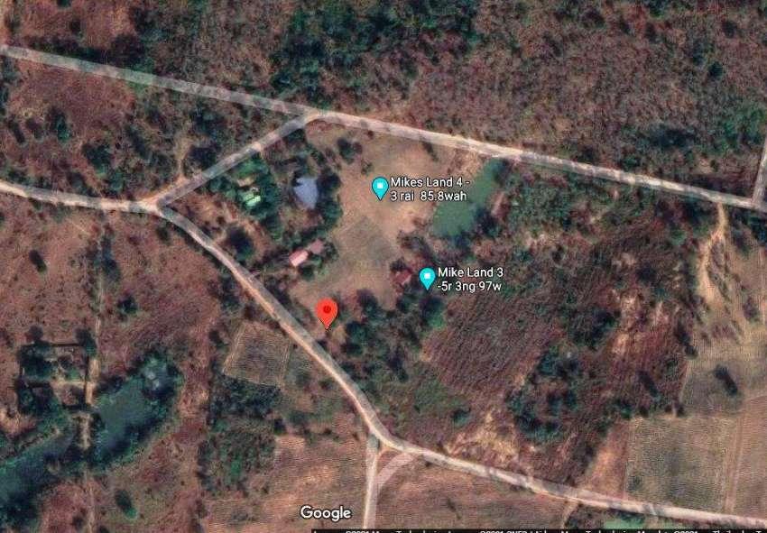 House + 5 Rai 3 ngan 97 wah Chaiyaphum 11km from the city