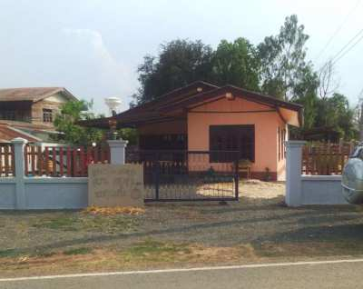 Buriram Village house at an amazing price 1.3mil