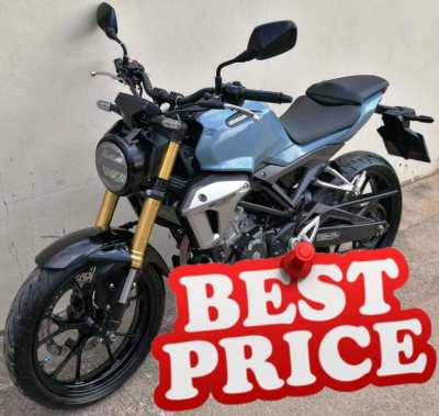 01/2020 Honda CB-150R 9xx km 54.900 ฿ Finance by shop