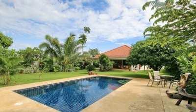 Hot! Furnished 3 Bedroom - 3 Bathroom Pool Villa On Large Plot
