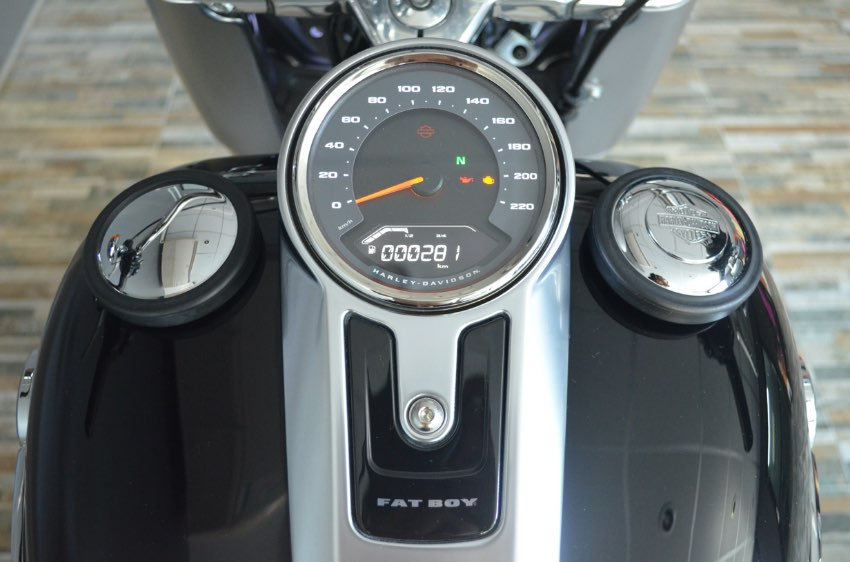 Brand-New 2018 Harley Fat Boy Only 281 km.